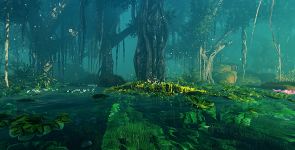 VideoHive Fantastic And Magical Jungle 19087712