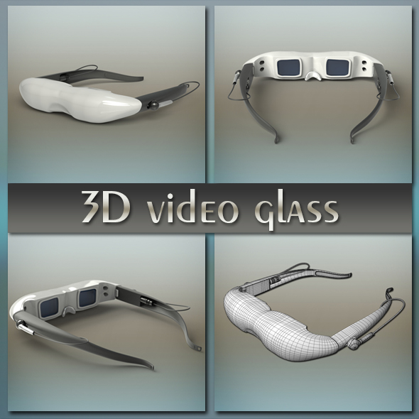 3D video glass - 3DOcean Item for Sale