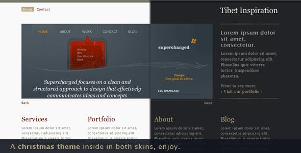 Tibet Inspiration 8 in 1 - portfolio & business