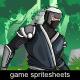 The Ninja Sprite Character