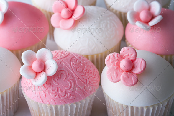 Wedding cupcakes - Stock Photo - Images