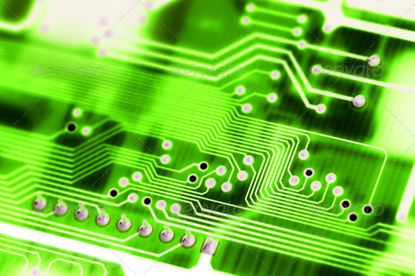 Abstract Circuit Board - Stock Photo - Images