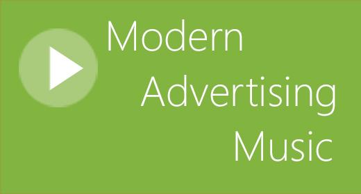 Best Modern Advertising Music