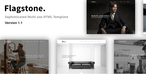 Flagstone - Creative Multi-use HTML Template