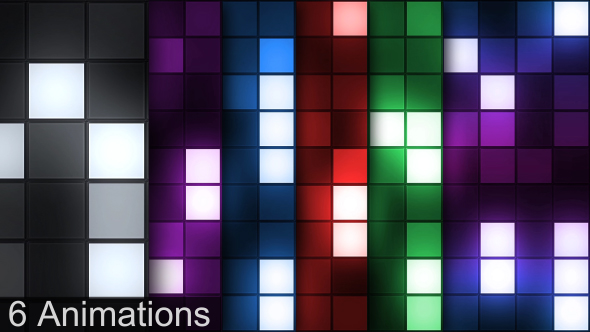 VideoHive Box Lights Stage 19099430