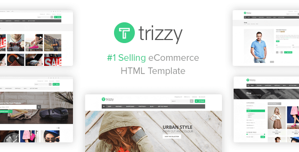Trizzy - Multi-Purpose eCommerce Shop HTML Template
