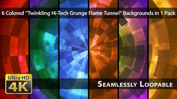 Download Twinkling Hi-Tech Grunge Flame Tunnel - Pack 05 nulled download