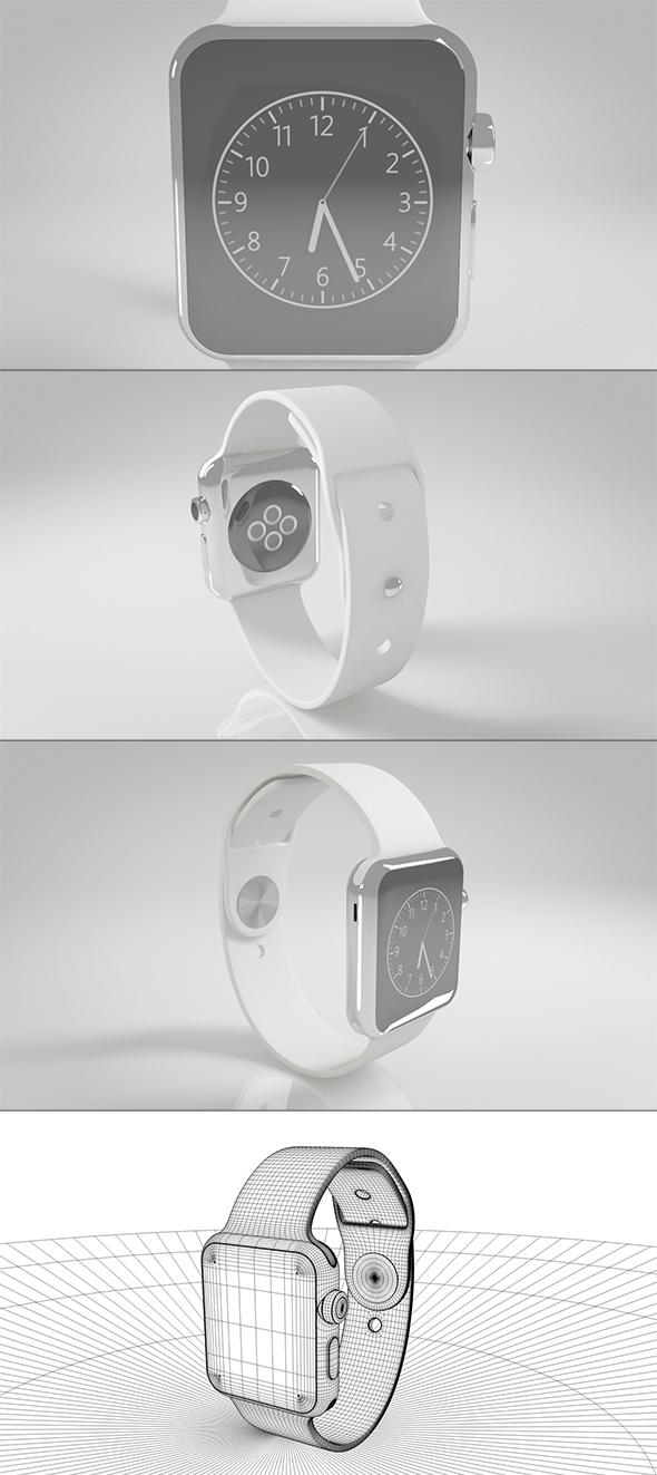 Apple Watch series 2 - 3DOcean Item for Sale