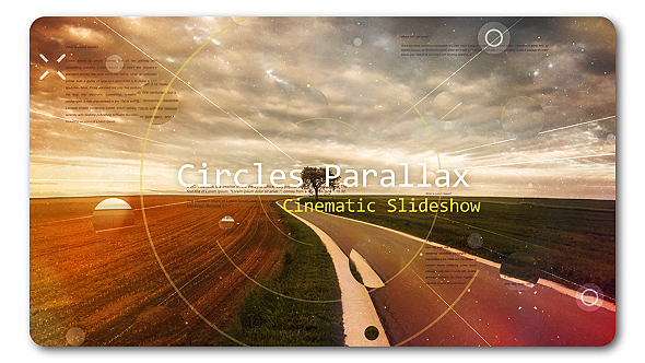 Cirlce Parallax | Cinematic Slideshow (Abstract)