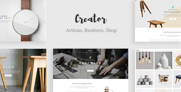 Download Creator - A Refined Theme for Handmade Artisans, Businesses & Shops nulled download