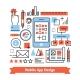 Mobile App Development Process Concept