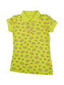 Yellow-green polo shirt
