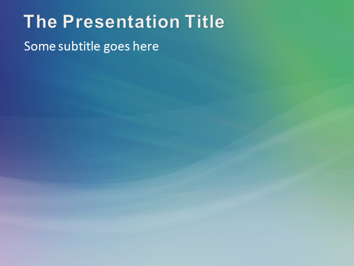 Aura Abstract Professional PowerPoint Template by stigma5 – Professional Power Point Template
