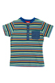 Children's striped shirt isolate