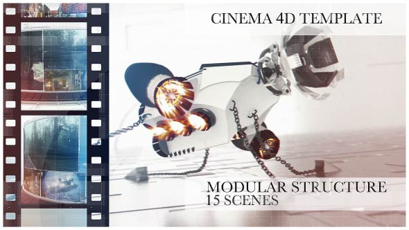 Download Rotatus 4 - Cinema 4D Template nulled download