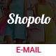 Shopolo-Responsive Email Template + Stampready builder