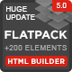 Download FLATPACK – Landing Pages Pack With Page Builder from ThemeForest