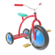 Retro Toy Tricycle (ready for render)