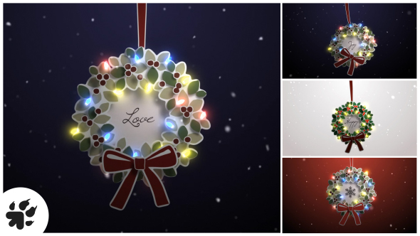 Download Merry Christmas Wreath nulled download