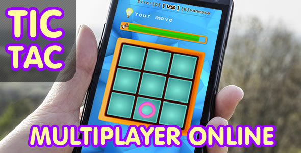 CodeCanyon Tic Tac Toe Online Multiplayer .CAPX 19105758