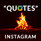 Quotes Instagram Templates - 20 Designs - Free Images