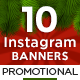 Christmas Instagram Templates - 10 Designs
