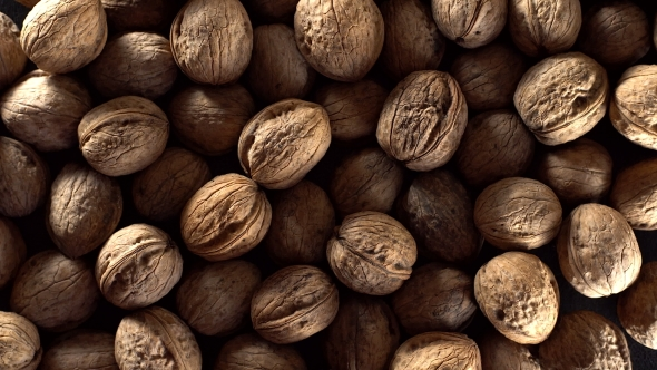 VideoHive Walnuts in Rotation 19106793
