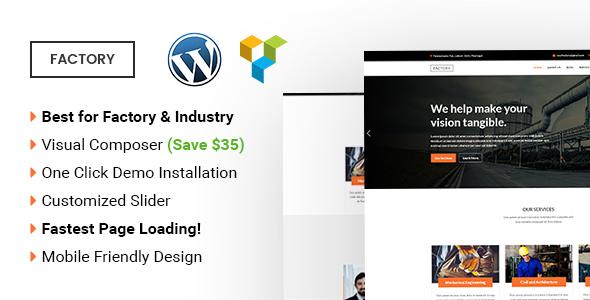 Factory | Multipurpose WordPress Theme