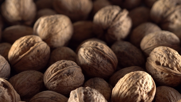 VideoHive Walnuts in Rotation 19106799
