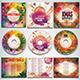 Colorful Christmas CD/DVD Album Covers Bundle Vol. 1