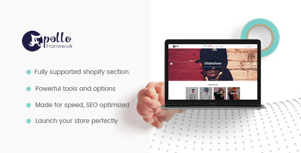 Apollo Framework Shopify Theme