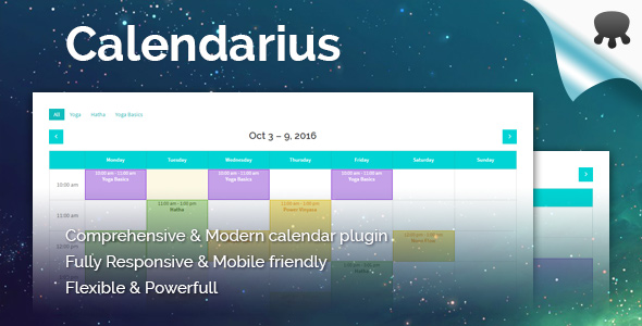 Download Calendarius - Comprehensive & modern calendar plugin for WordPress nulled download