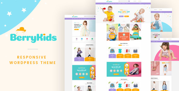 Download BerryKid - Baby Store WooCommerce WordPress Theme nulled download