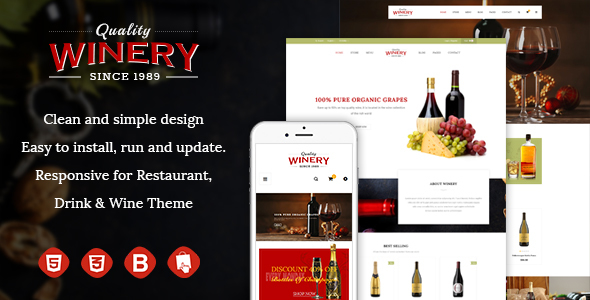 JMS Winery - Responsive Prestashop Theme