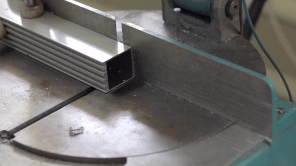 VideoHive Aluminium Profile Cutting Machine 19109481