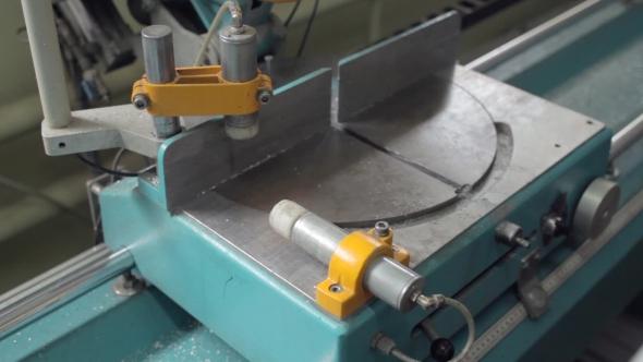 VideoHive Aluminium Profile Cutting Machine 19109527