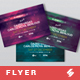 Electronic Music Party Flyer Template