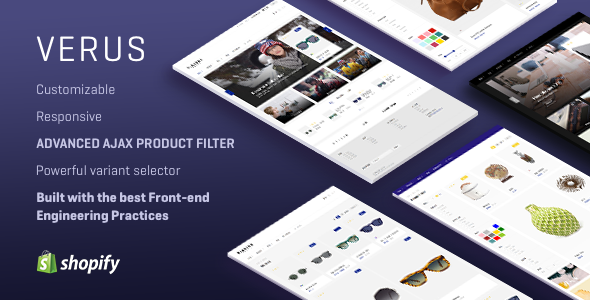 VERUS - Multipurpose Responsive Shopify Theme
