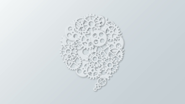 Download Animation Modern Concept Bubble Speech and Gears Rotation Background nulled download