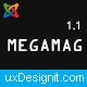 Megamag - K2 Magazine and Bloging for Joomla 3 Responsive Templates