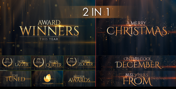 Award Winners & Christmas Message (Special Events)