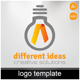 Different Ideas Logo Template - GraphicRiver Item for Sale