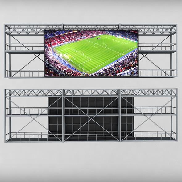 3DOcean Scoreboard stadium tv led screen 19116846