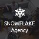 SNOWFLAKE. | Onepage Agency HTML Template