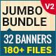 Jumbo Bundle (V2) - 30+ HTML5 Ad Banners