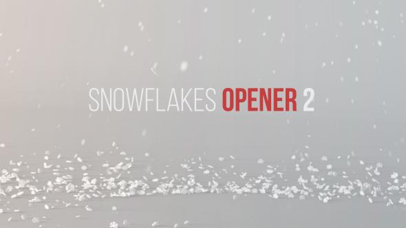 Snowflakes Opener 2