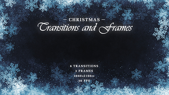 Download Christmas Transitions & Frames nulled download