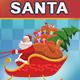 Animated Santa Riding On Sleigh