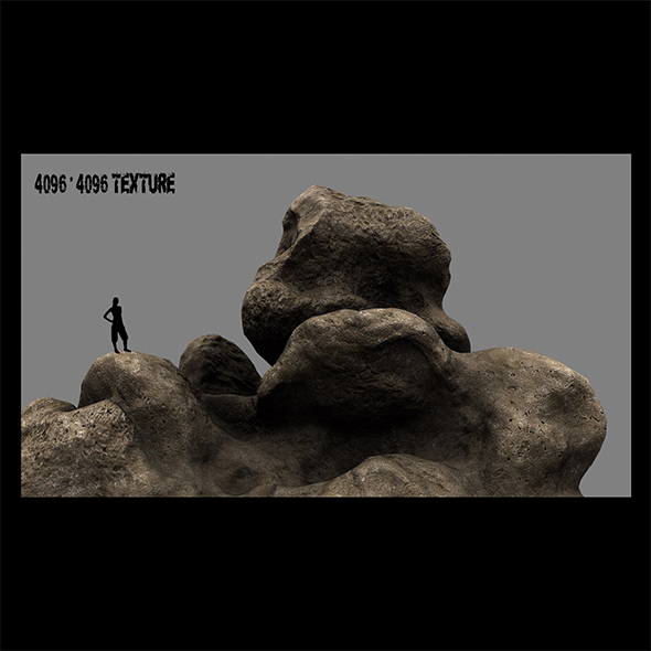 rock 4 - 3DOcean Item for Sale