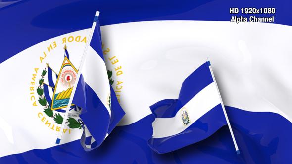 Download Flag Transition - El Salvador nulled download